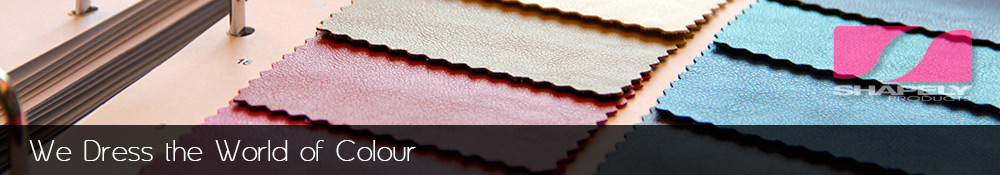 Catalogue of fabrics and synthetic leathers.
