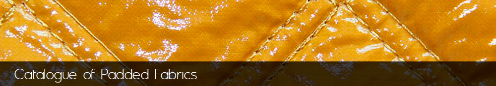 Manufacture and sale of padded fabrics.